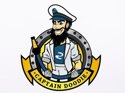 Captain Doody Logo Design