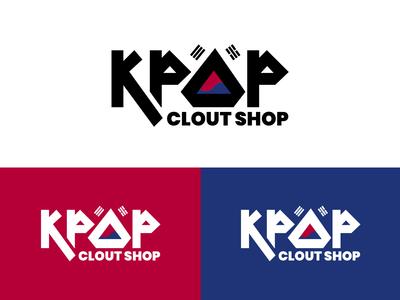 Kpop Clout Shop Logo Design