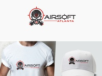 AirSoft Atlanta Logo Design
