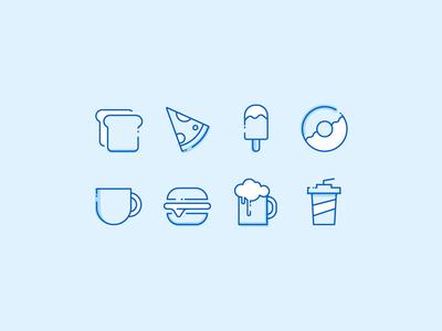 Food Icons Exploration