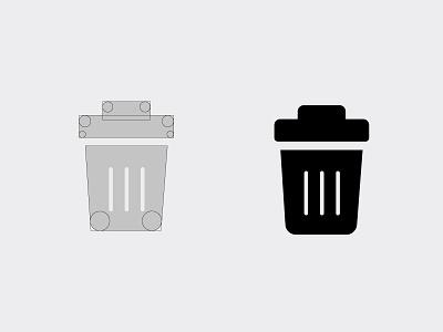Delete Icon illustrator icon set icon 2018 delet india illustration 2d