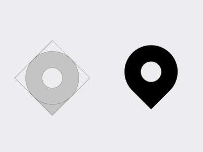 Location Icon flat vector process india 2018 location icon