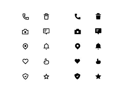 Ui Icons vector 2018 icon line icons icons