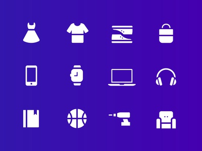 Shopping Category Icons