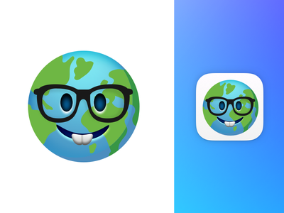 Learnji App Icon emoji world language learn learnji