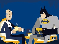 Batman and Alfred