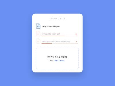 Daily UI challenge #031 — File Upload download upload file challenge card ui dailyui daily app