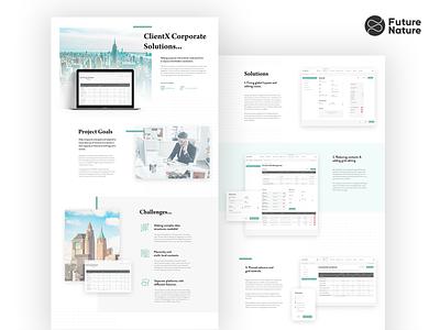 Corporate Management - Case Study app bulgaria futurenaturedesign freelance portfolio webdesign web big data grid management corporate case study uidesign ux ui