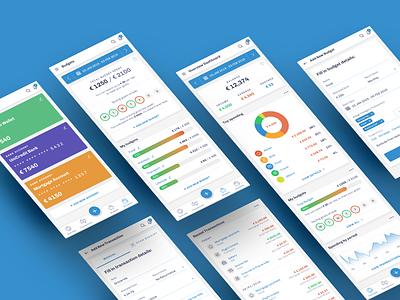 Budget Smart Planner freelance personal finance charts app ui