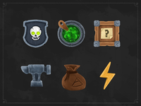 Game Icons for Merchants Cove