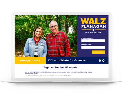 Walz Flanagan for Minnesota