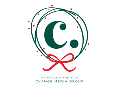 Change Media Group Holiday Card