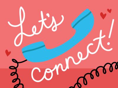 Let's connect, Valentine!