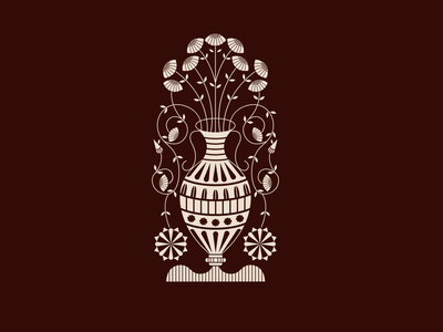 Barcelona Vase 2 branding icon vector illustrator design graphic design illustration