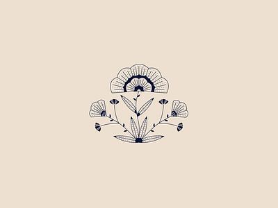 Barcelona Flowers adobe art icon stipple vector branding illustrator drawing graphic design illustration