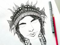 WARRIORPRINCESS / sketch