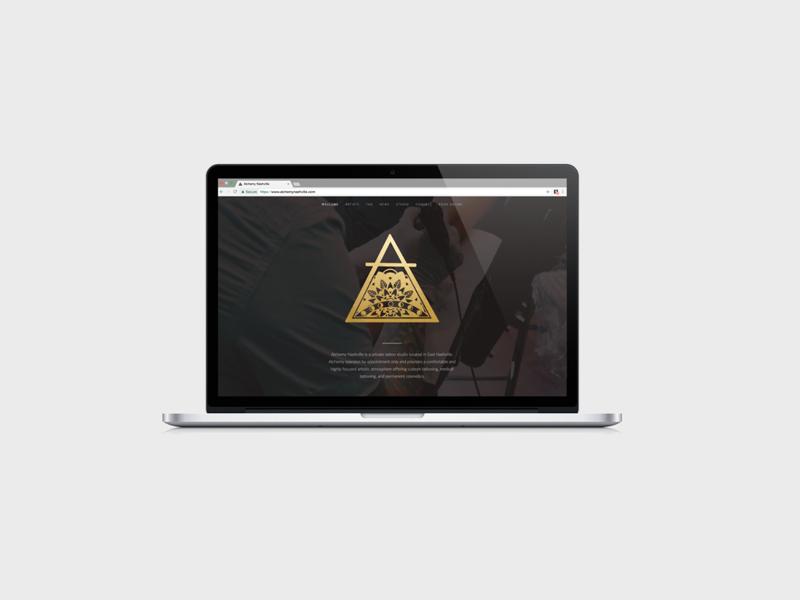 Alchemy Nashville Branding Project by de Haas Design on Dribbble
