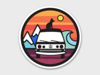Mav Sticker Mockup