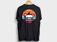 Adventure Dog T-Shirt Design