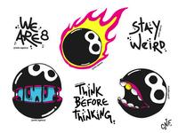 Oito Stickers