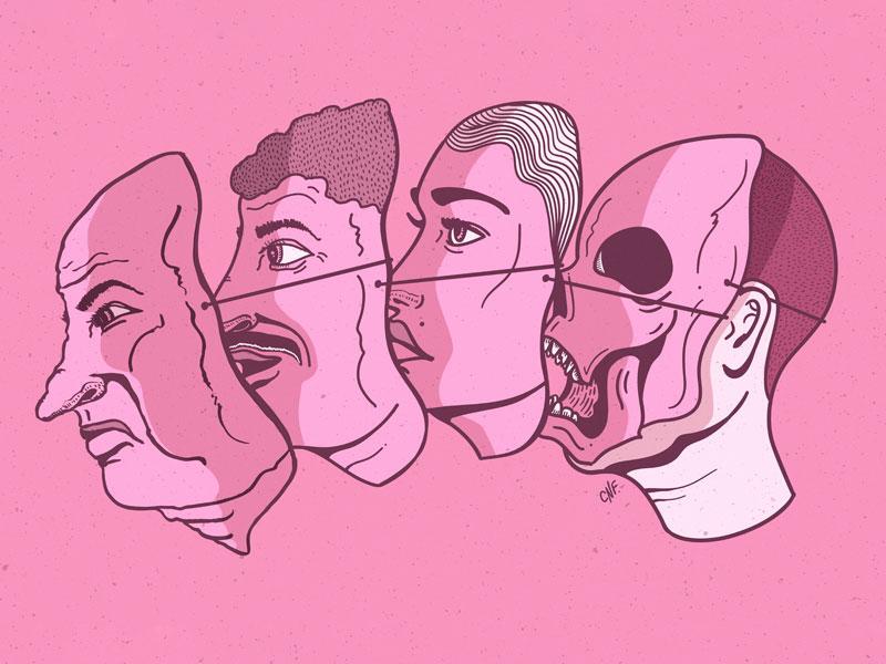 Masks idevice masked self us fake drawings masks mask illustrator