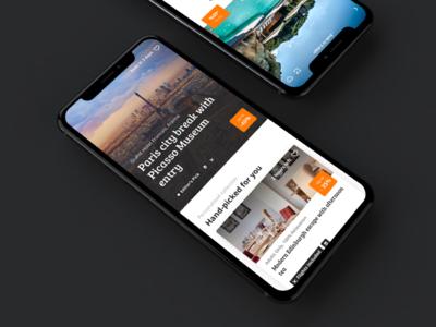 Secret Escapes App on iOS secretescaping secretescapes travel consultancy consulting app uidesign iosdevelopment appdevelopment