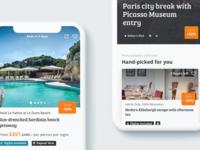 Secret Escapes App on iOS travel uidesign secretescaping secretescapes iosdevelopment consulting consultancy appdevelopment app
