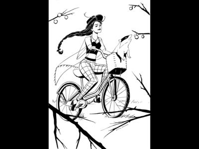 Inktober 2019: Ride