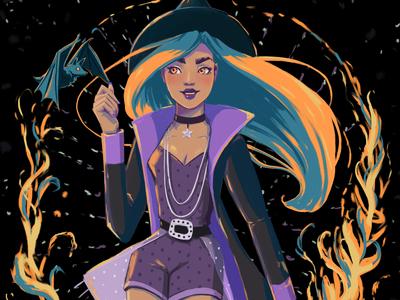 Spooky Season Witch