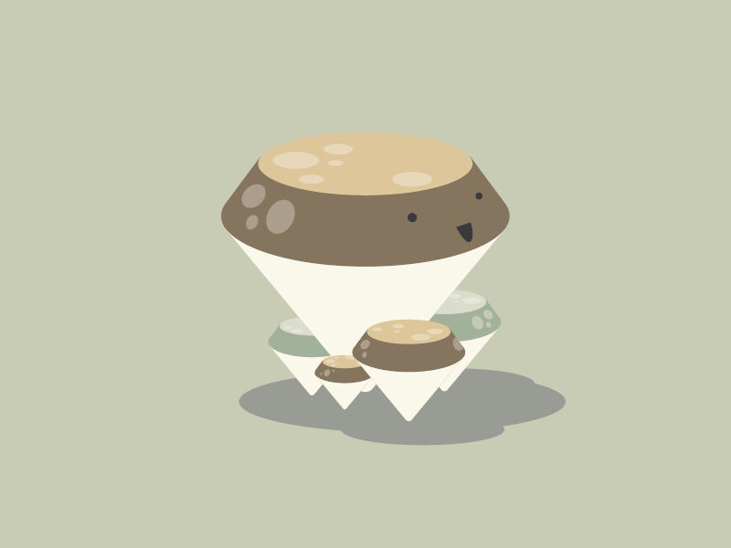 Diamond Mushroom pastel doodles mushroom food illustration diamond
