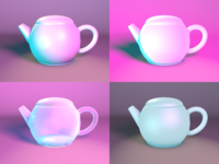 Teapot, 4 ways