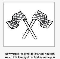 start flags