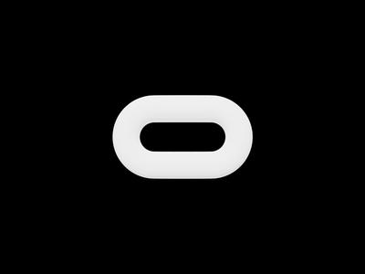 Oculus Logo Animation prototype xr ar vr preloader loader oculus blender3d animation 3d logo brandng ui design ui