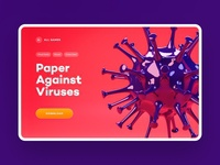 VR Game: Paper Against Vruses