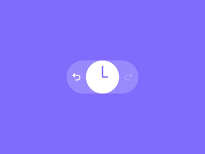 Undo Redo Button smooth button undo redo animation ui animation motion ui after effects interaction design mobile design xr microinteractions microinteraction ux design ux ui design ui