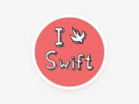 Swift sticker