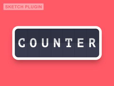 Counter [Sketch plugin]