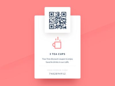 Redeem coupon