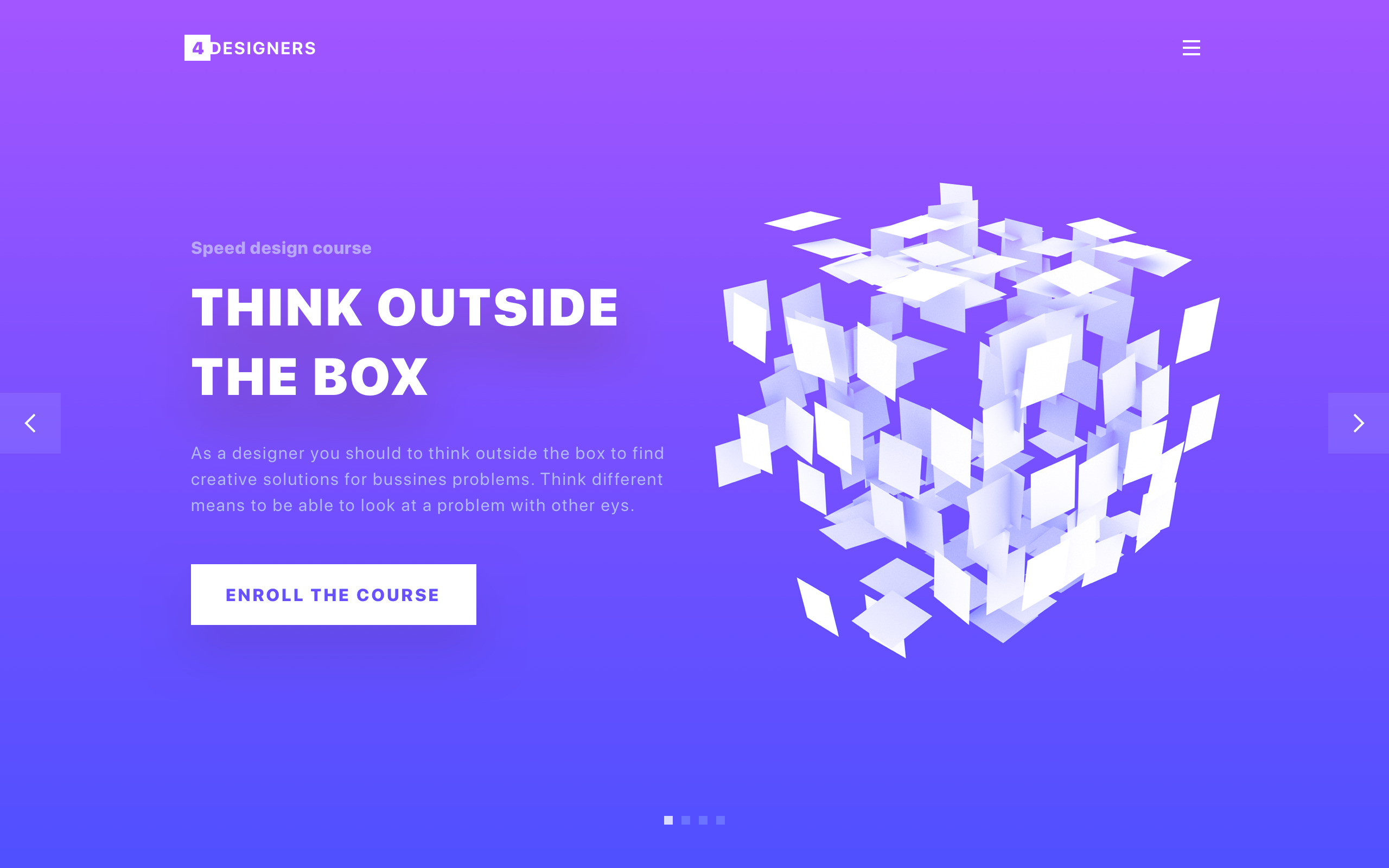 Landing page by volorf 2x