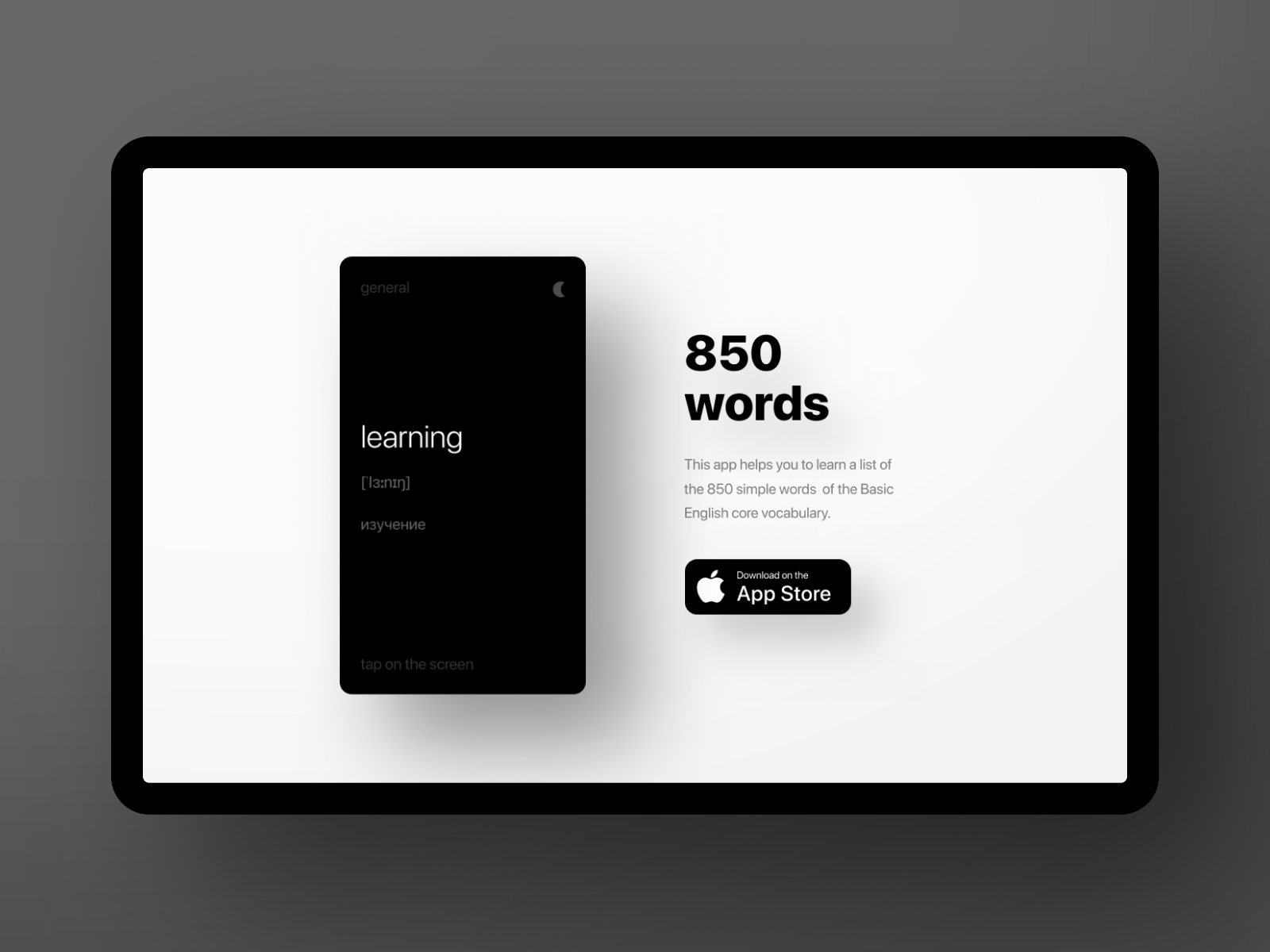 850 words landing dribbble shot by volorf 2x