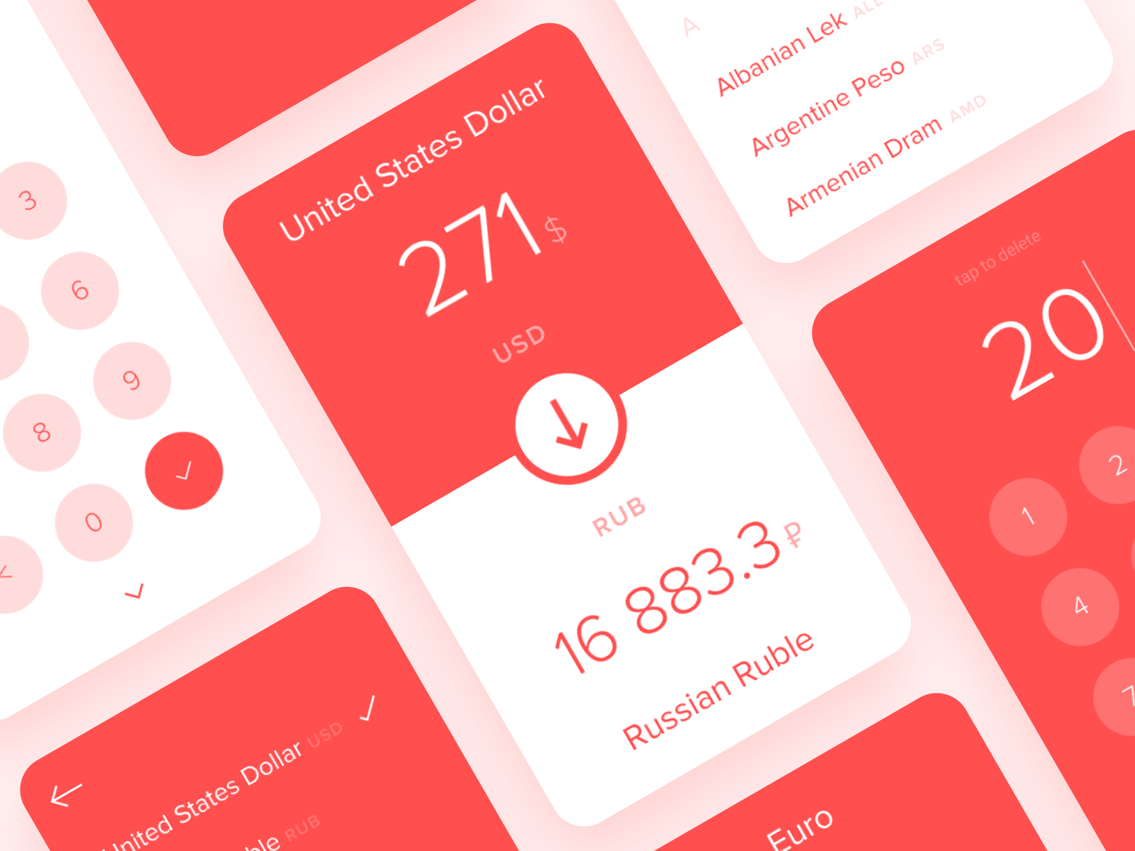 Stylish currency converter by volorf 2x