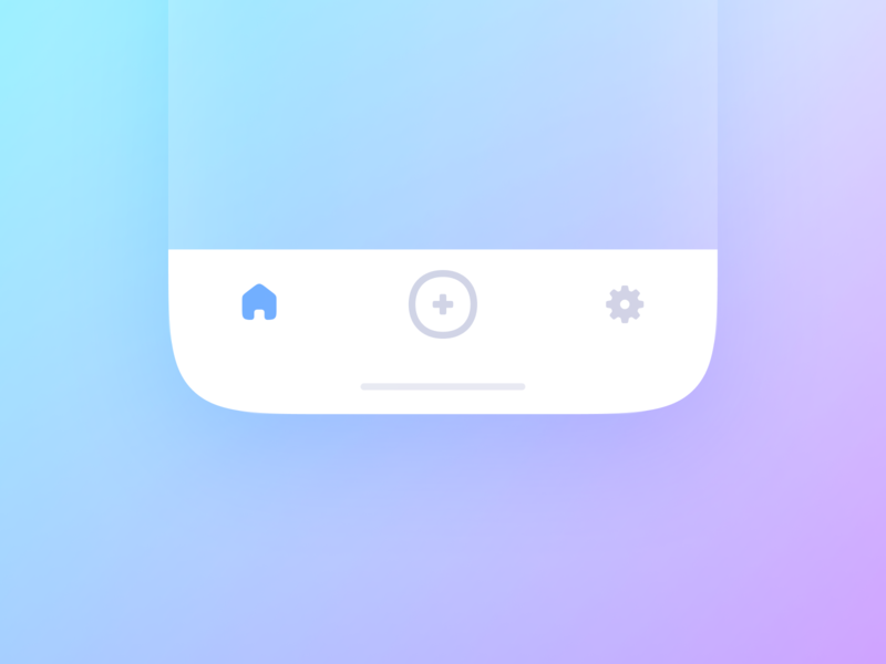 Tab Bar menubuttons mobileapp buttons bottomnavigation tabbar navigation menu ios appdesign mobiledesign ui ux