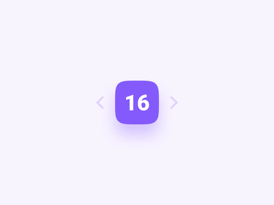 Stepper XVIII ui concept counter stepper mobile design interaction design microinteractions ui animation design exploration button animation ux ui