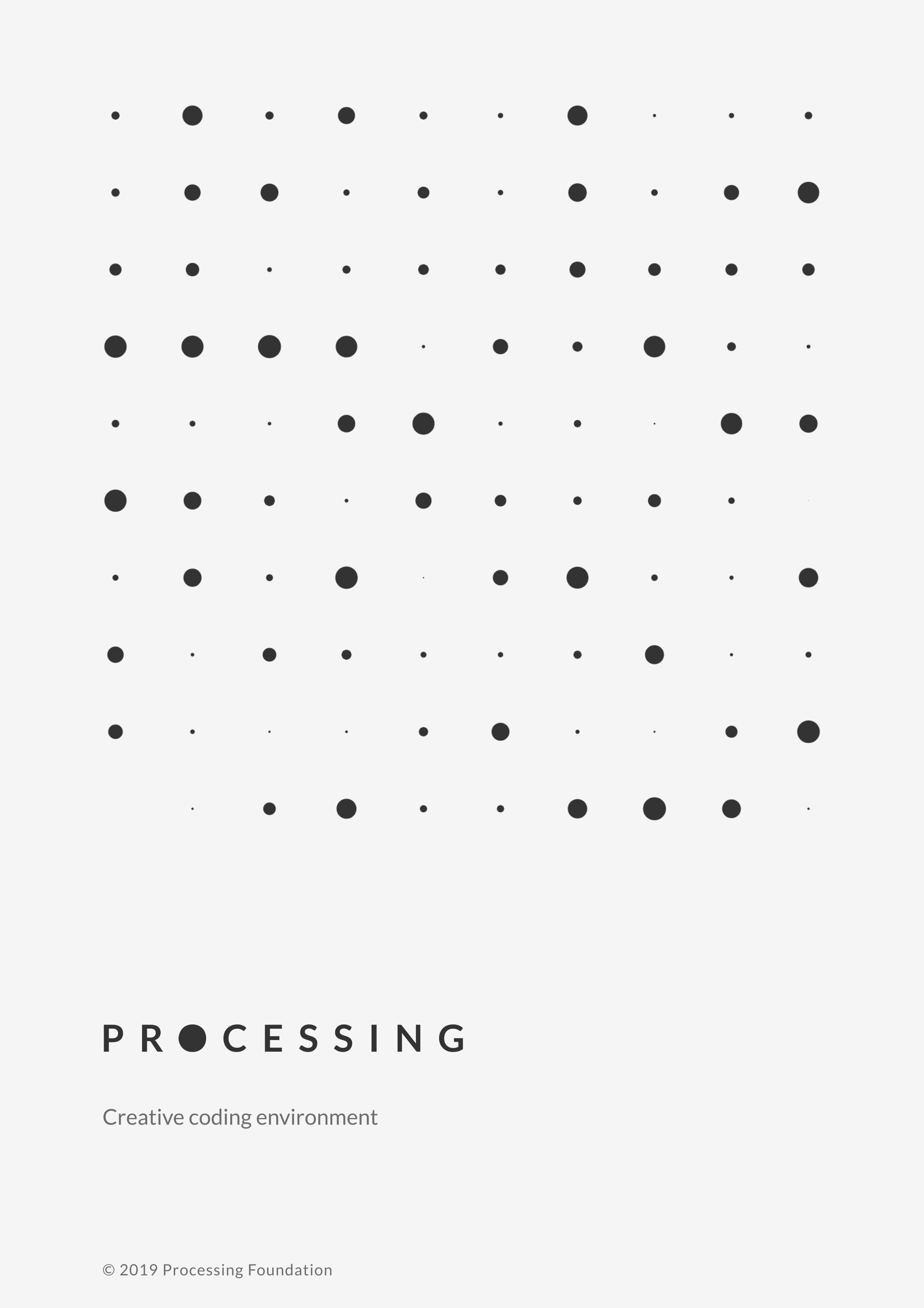 Processing poster a4 light 4x