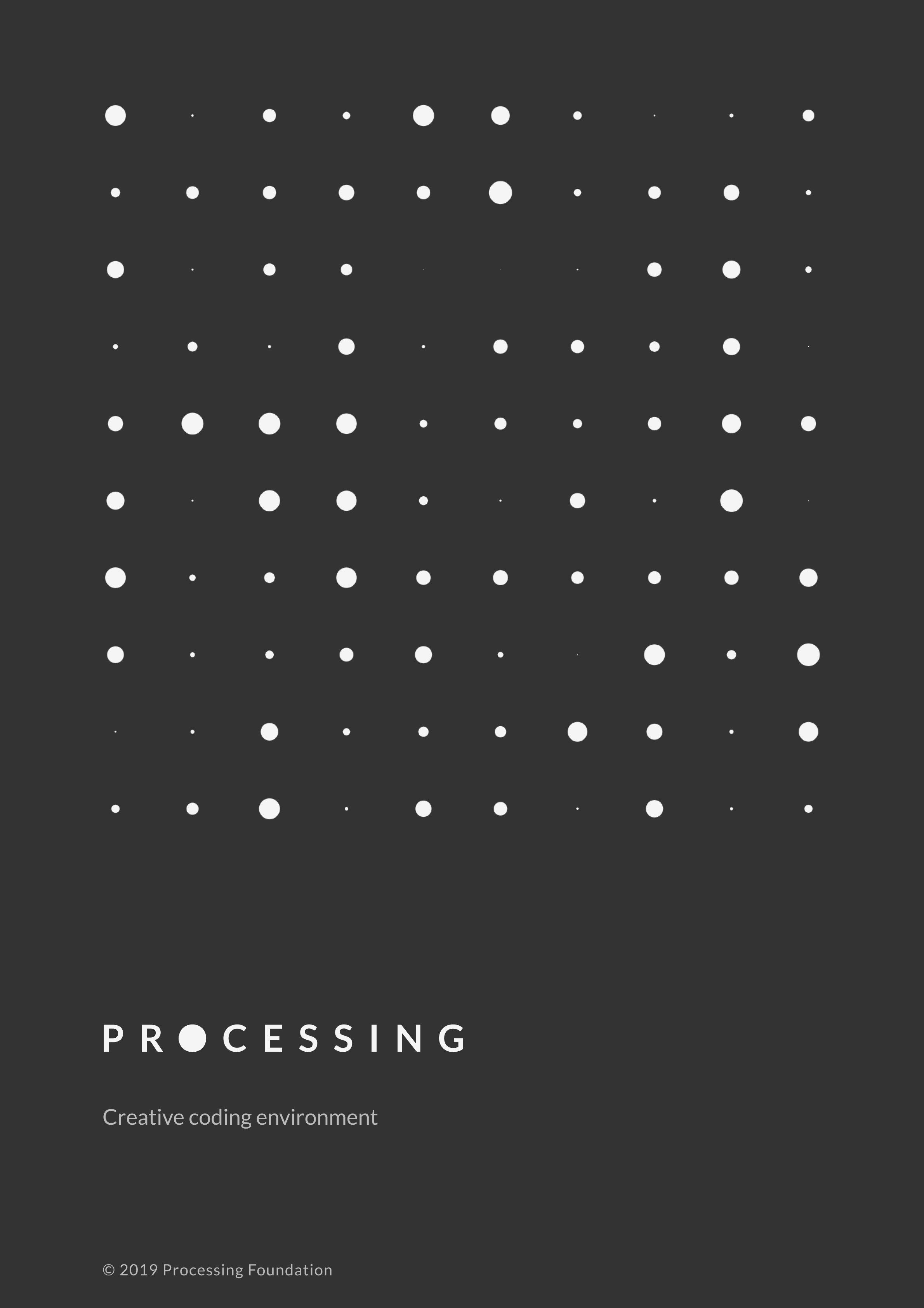 Processing poster a4 dark 4x