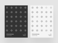 Processing poster v by volorf 2x