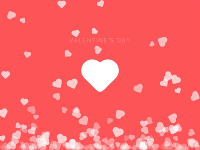 Happy Valentine's Day microinteractions madewithunity particle system heart favorites likes particles unity3d prototyping unity ui animation ui ux