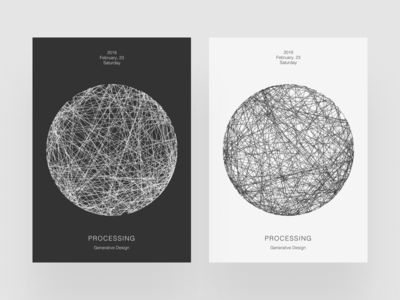 Processing Poster VII