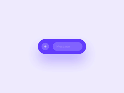 Chat Bar Interaction input chat app animation interaction design messenger ui animation ux ui chat microinteractions interaction chat bar