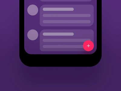 Add Button Interaction prototype app mobile button add interaction design microinteraction microinteractions uianimation animation ui ux